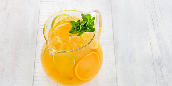 Ginger-Orange Mocktails