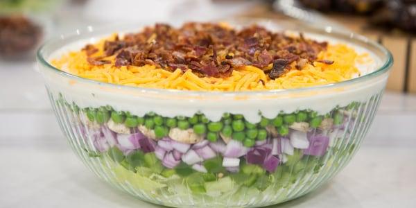 Layered Veggie Salad