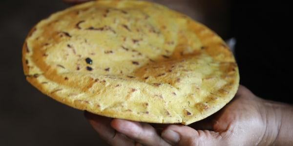 Homemade Nixtamal Corn Tortillas