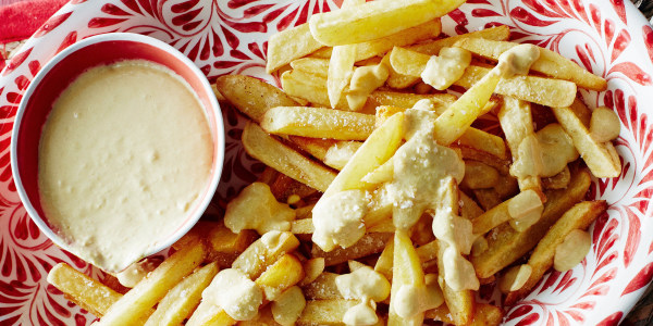 Lebanese French Fries with Garlic Sauce