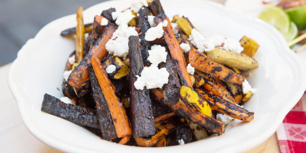 Chargrilled 'Burnt' Carrots