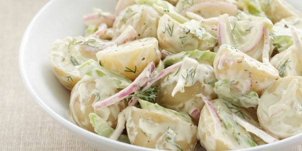 Sunny's Easy Pesto Potato Salad