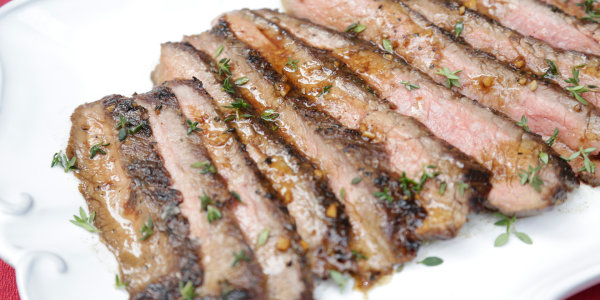 Balsamic-Herb Flank Steak
