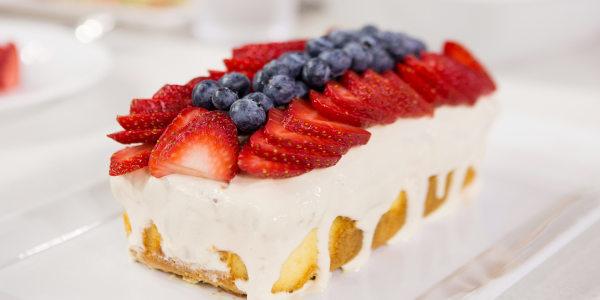 Sunny's Easy Patriotic Poke Cake