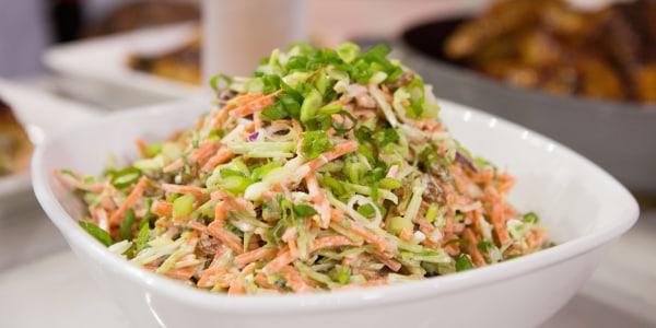 Sunny's Easy Broccoli and Carrot Slaw