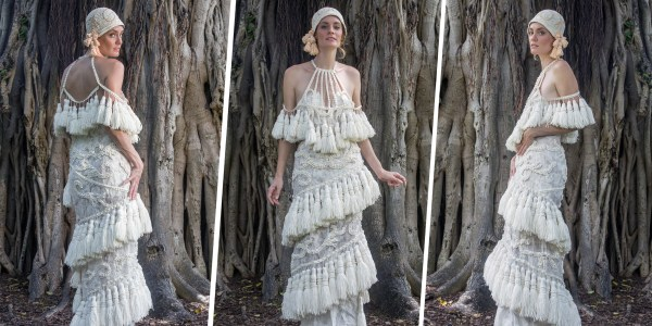 Meet the top 10 toilet paper wedding dress designers