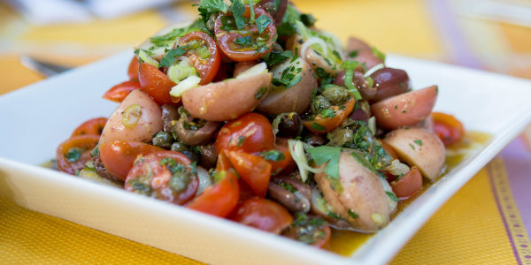 Red Potato and Tomato Salad