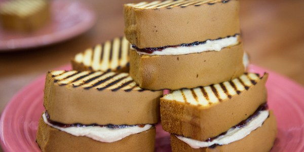 Dessert Peanut Butter and Jelly Sandwiches