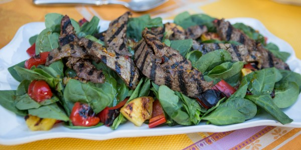 Brazilian Steak Salad
