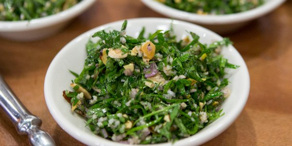 Tabbouleh with Preserved Lemon and Almonds