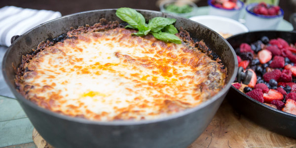 Campfire Lasagna