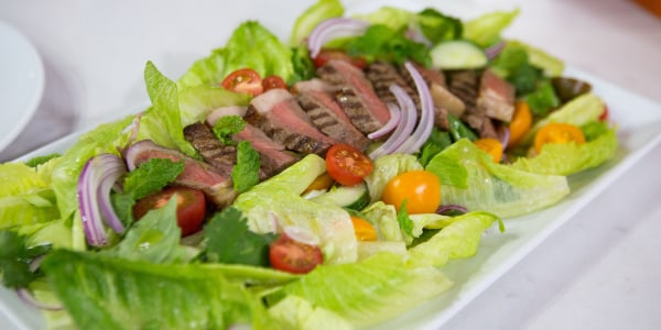 Thai Salad with Grilled Dry-Aged Beef