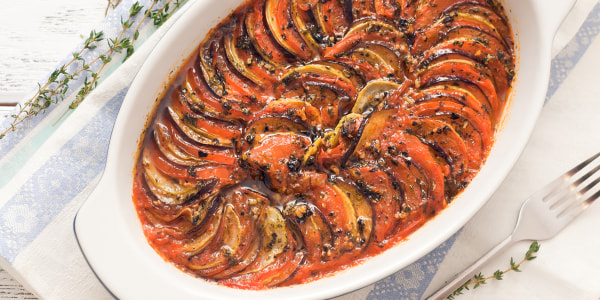 Julia Child's Ratatouille Eggplant Casserole