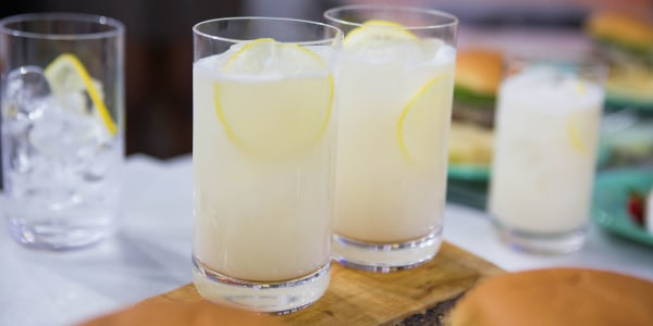 Sunny's Grilled Coconut Lemonade