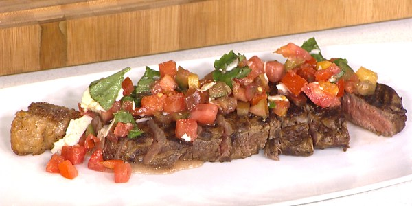 Sunny's Easy Bruschetta Steaks