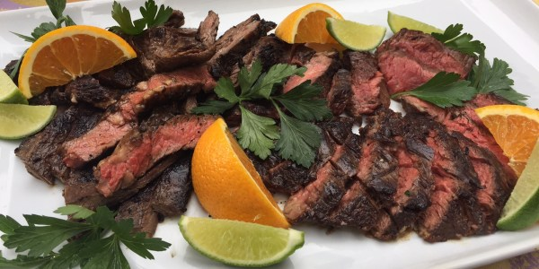 Spicy Citrus Grilled Skirt Steak