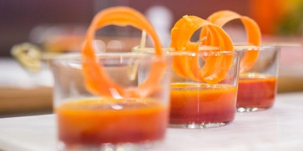 Carrot-Beet Borscht