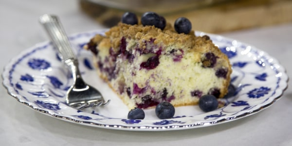 Dylan Dreyer's Blueberry Buckle