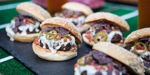 Bobby Flay's Nacho Burger