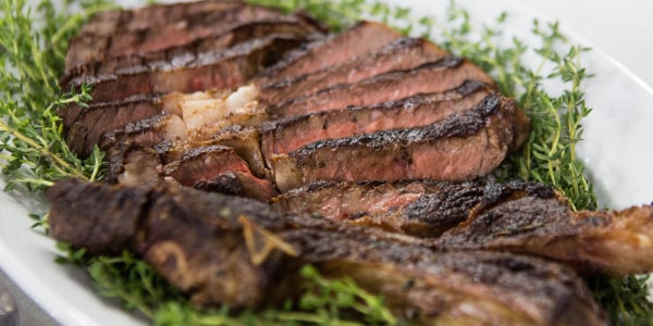 Al Roker's Bone-In Ribeye Steaks
