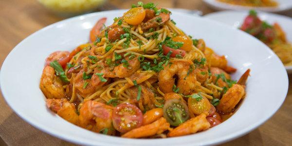 Shrimp Tagliolini Fra Diavolo