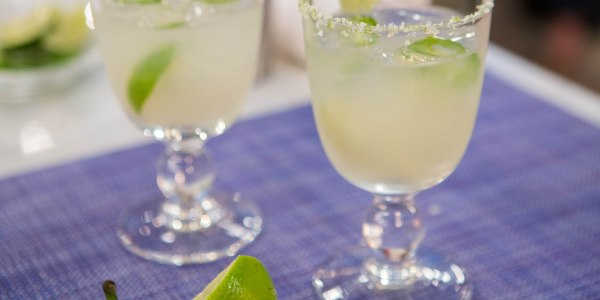 Spicy Margarita with Jalapeño and Ginger