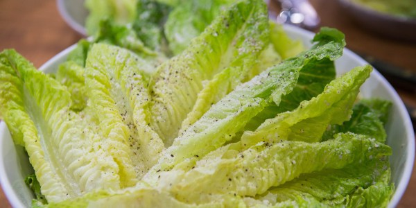 Semi-Healthy Caesar Salad