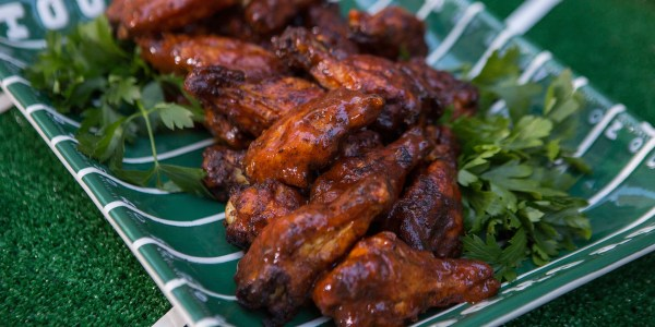 Southern Barbecue Chicken Wings