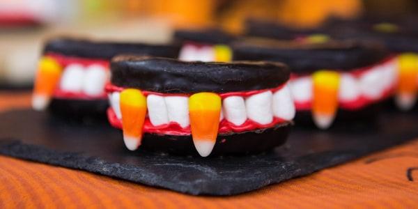 Sweet Dracula Doughnuts