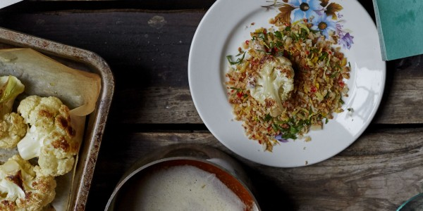 Cauliflower with Brown Butter and Breadcrumbs