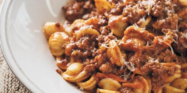 Orecchiette Bolognese Pasta