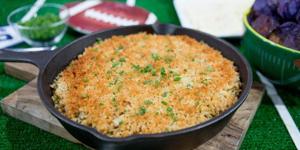 Warm Crab Dip with Cape Cod Kettle Chips