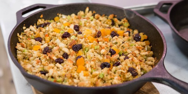 Herbed Fruit and Nut Stuffing