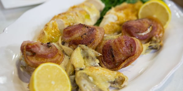 Siri Daly's Roast Chicken with Pancetta