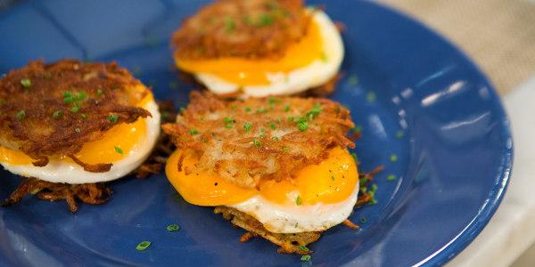Egg and Cheese Latke