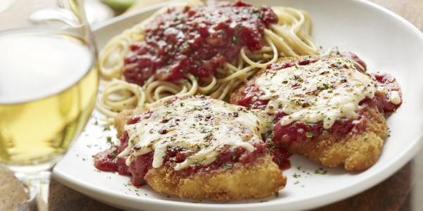 Olive Garden's Chicken Parmigiana