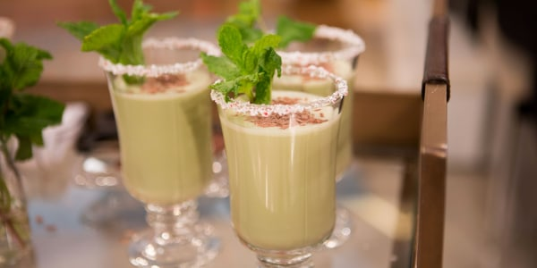 Mint Chocolate Egg Nog