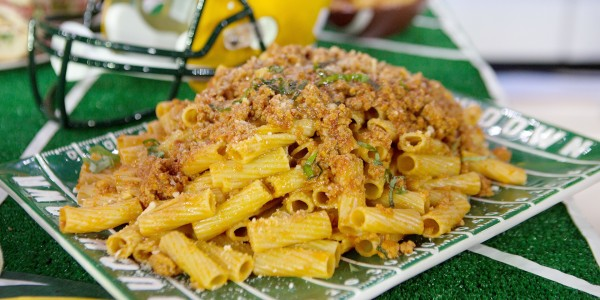 Penne with Veal and Chicken Bolognese