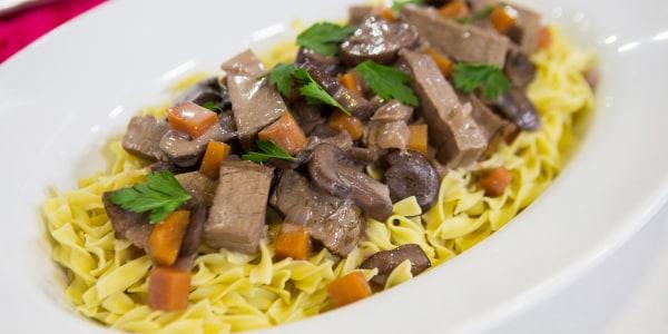 Siri Daly's Beef Stroganoff
