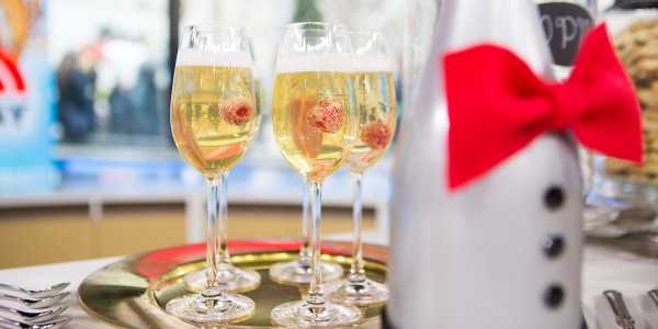 Champagne, Tequila and Grapefruit Cocktail