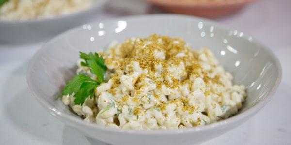 Vegan Mac and Cheese with Cauliflower