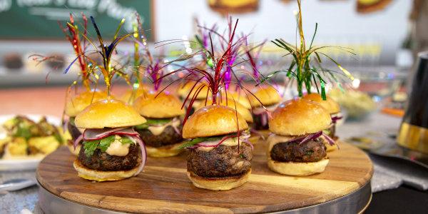 Mini Lamb Kebab Burgers