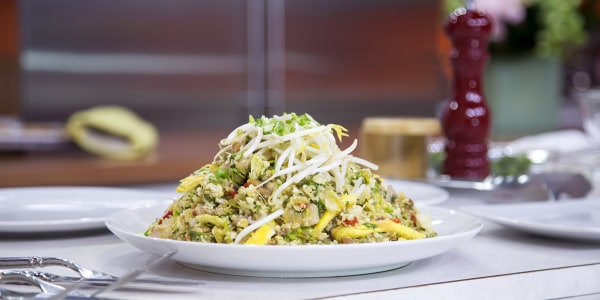 The Paleo Chef's Cauliflower Fried Rice with Chicken