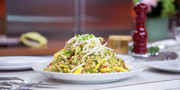 The Paleo Chef's Cauliflower Fried Rice with Chicken