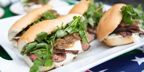 Tri-Tip Steak Sandwich