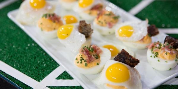 Deviled Dippy Eggs