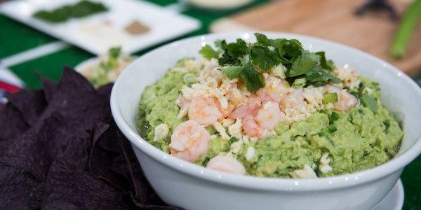 Seafood Guacamole