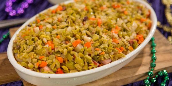 Seafood Muffuletta Dip