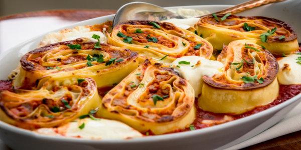 Don Angie's Lasagna Pinwheels
