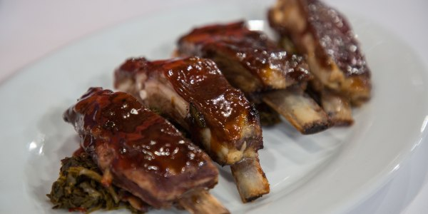 Mongolian Barbecue Lamb Ribs